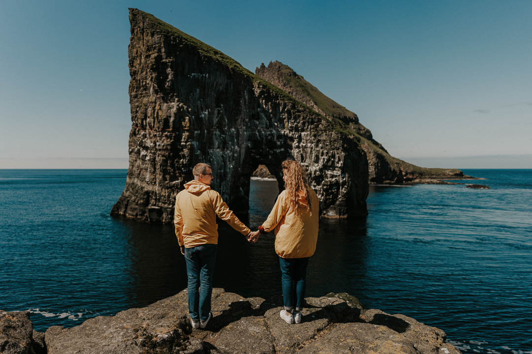 Faroe Islands Couple Shoot