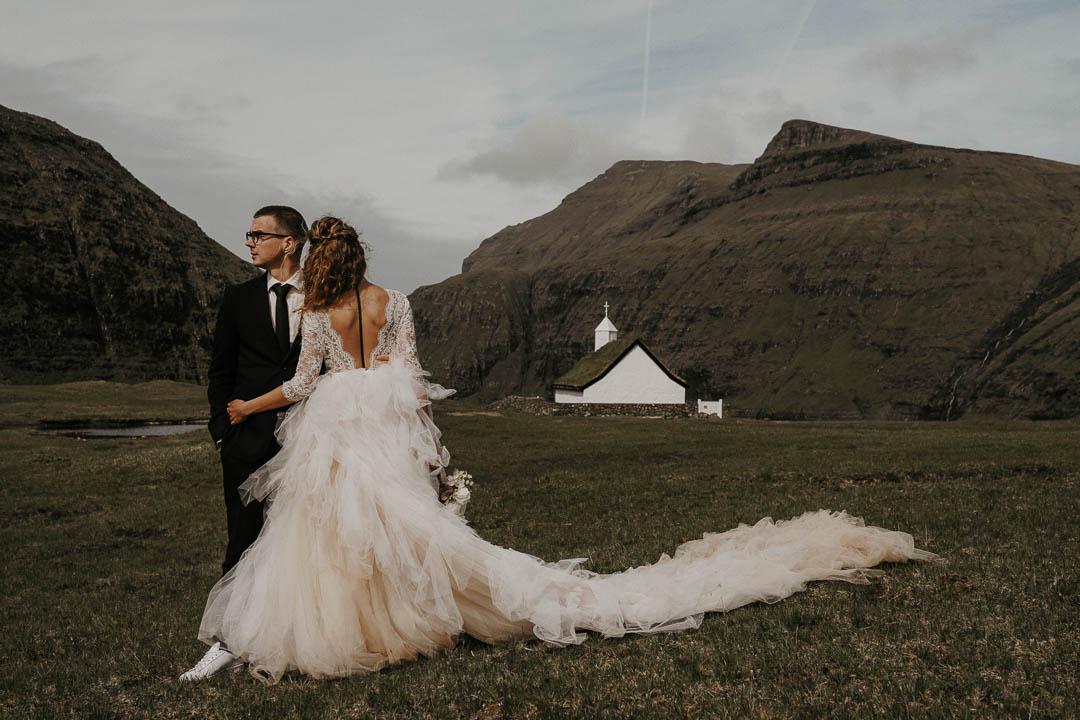 Faroe Islands adventurous wedding