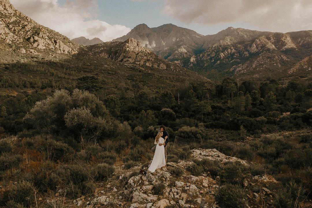 Adventurous Corsica Elopement
