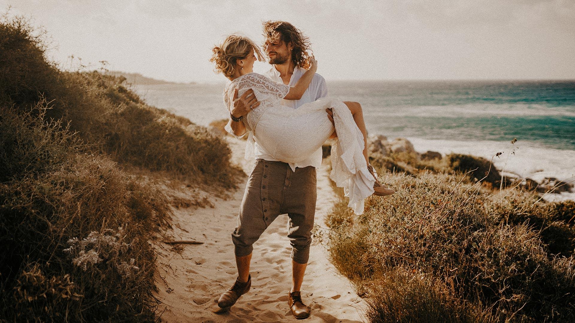 Korsika (Südfrankreich) Hochzeits-Shooting