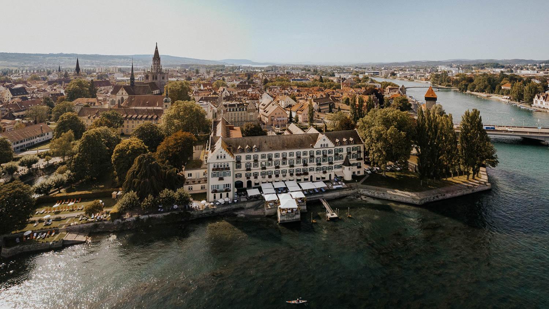 Steigenberger Inselhotel wedding location in Constance