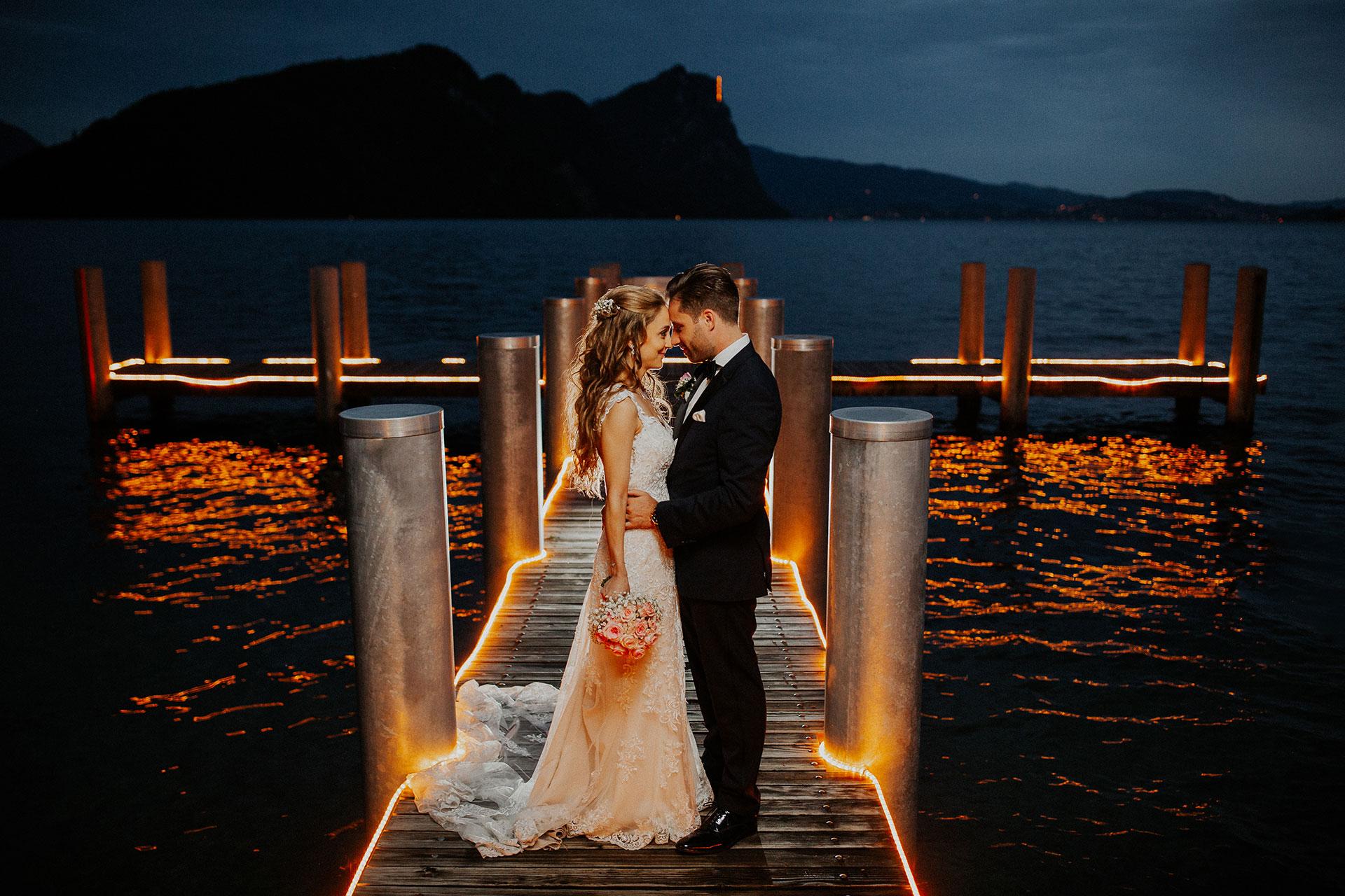 Vitznauerhof Luzern Hochzeit – Vanessa & Ricardo
